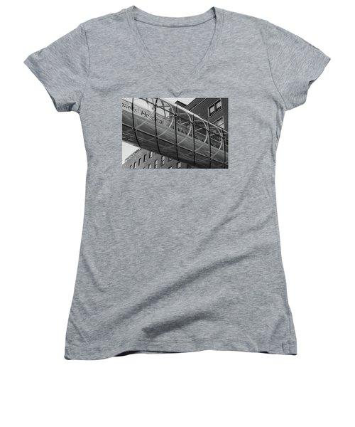 Li Ka Shing Women's V-Neck T-Shirt