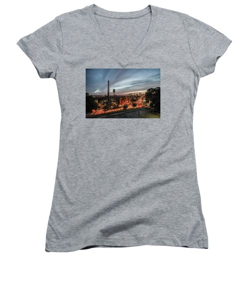 Libby Hill Post Sunset Women's V-Neck (Athletic Fit)