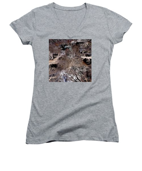 Life In A Bush Of Ghosts Women's V-Neck