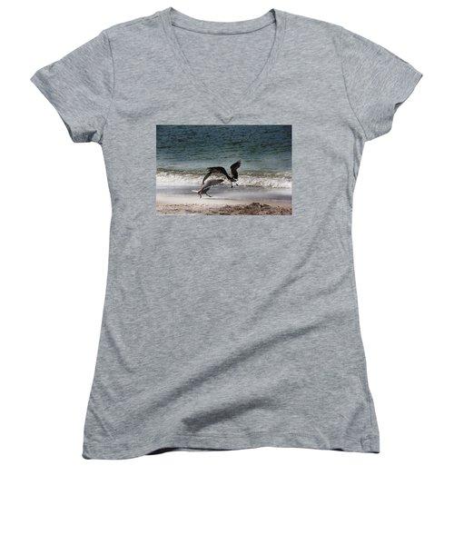 Life In Flight Women's V-Neck T-Shirt
