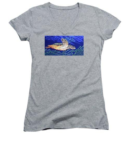 Life In The Slow Lane Women's V-Neck T-Shirt