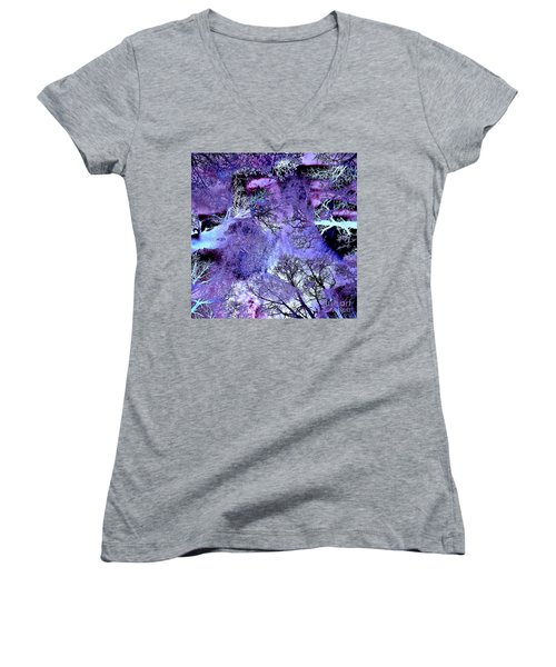 Life In The Ultra Violet Bush Of Ghosts  Women's V-Neck