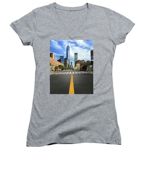 Life Is A Highway Women's V-Neck T-Shirt