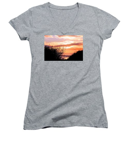 Life Is A Silhouette Women's V-Neck (Athletic Fit)
