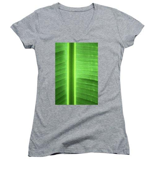 Life Lines Women's V-Neck T-Shirt