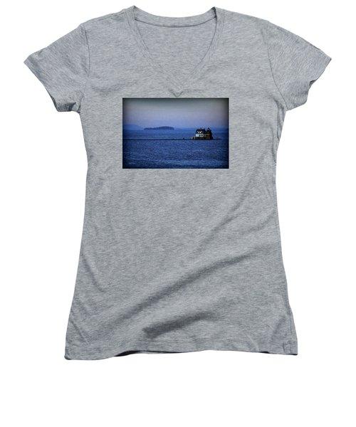 Life Of Solitude Women's V-Neck T-Shirt