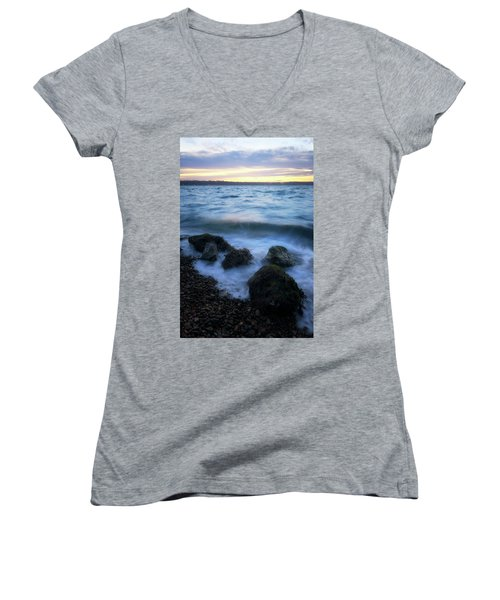Life On The Rocks Women's V-Neck (Athletic Fit)