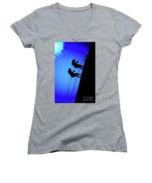 Lifelines And Companions Women's V-Neck T-Shirt