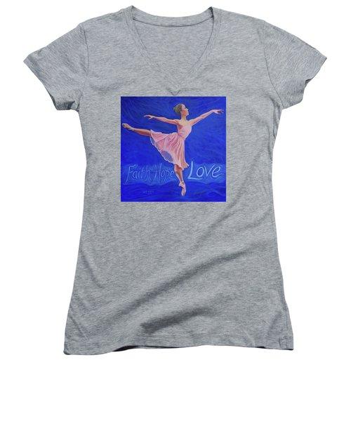Life's Dance Women's V-Neck