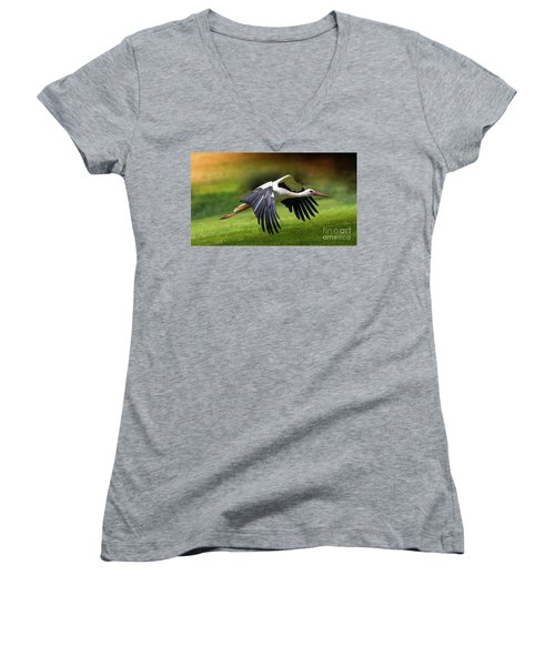 Lift Up Women's V-Neck T-Shirt