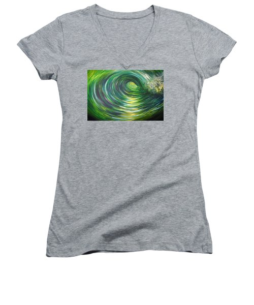 Light At The End Of The Tunnel Women's V-Neck