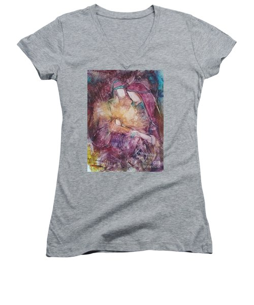 Light Of The World Women's V-Neck