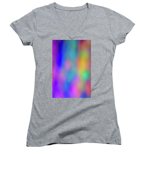 Light Painting No. 6 Women's V-Neck