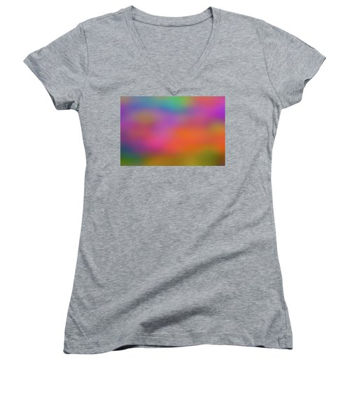 Light Painting No. 7 Women's V-Neck