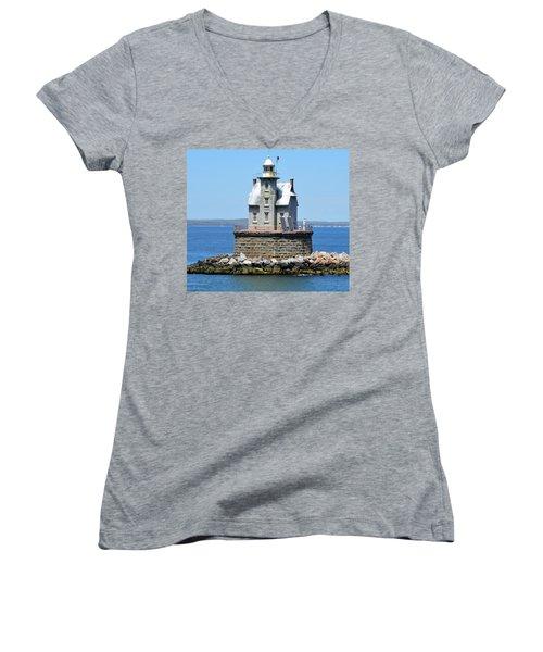 Lighthouse 2-c Women's V-Neck