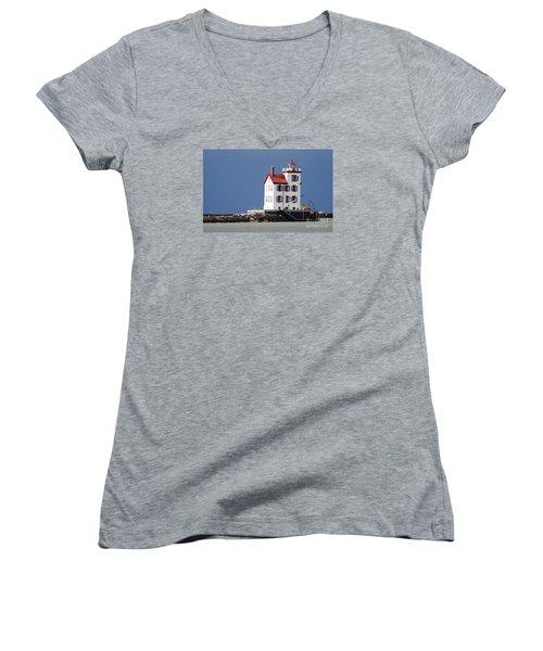 Lighthouse Oils Women's V-Neck T-Shirt