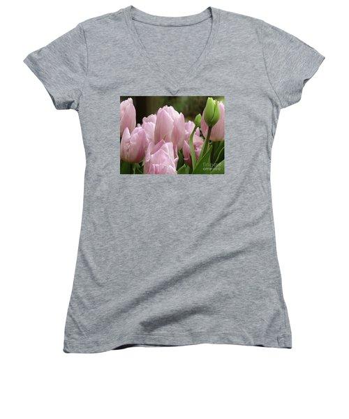 Lilac Charm #2 Women's V-Neck T-Shirt