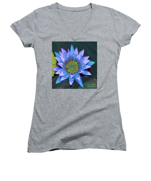 Lilly Watered Down Women's V-Neck T-Shirt