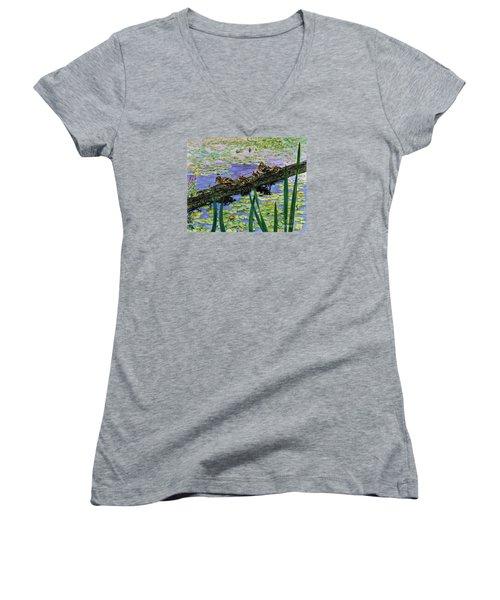 Lily Marsh Family Women's V-Neck T-Shirt