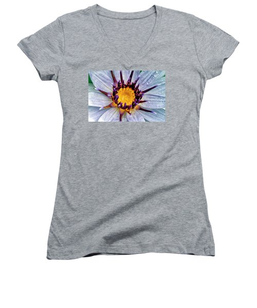 Lily Not Quite In Focus Women's V-Neck
