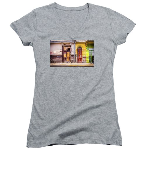 Lima City Doors Women's V-Neck