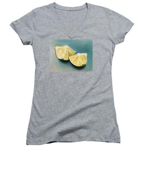 Limes Women's V-Neck