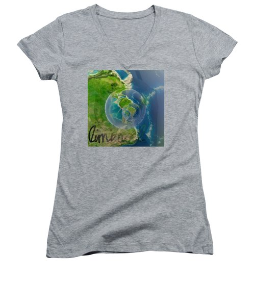 Liminal Women's V-Neck T-Shirt