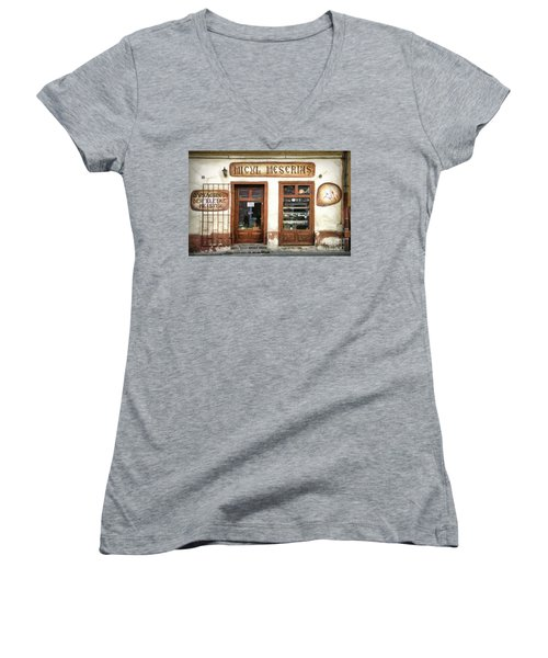 Little Craftsman' Shop - Micul Meserias Women's V-Neck