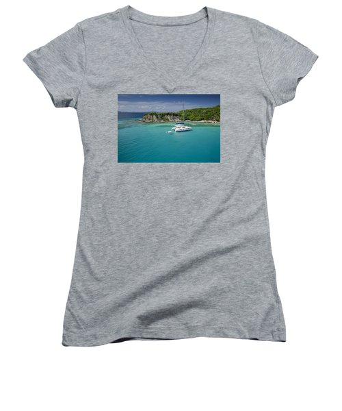 Little Harbor, Peter Island Women's V-Neck