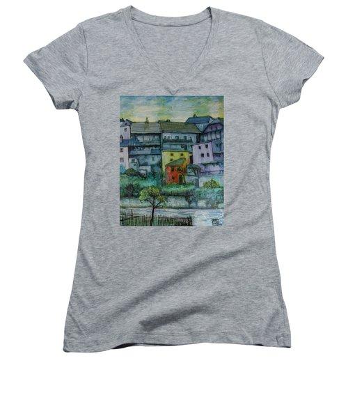 River Homes Women's V-Neck T-Shirt