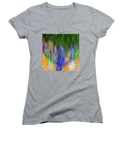Living Color Reflection Women's V-Neck T-Shirt