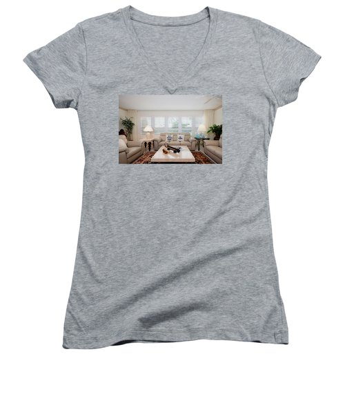 Living Room Women's V-Neck