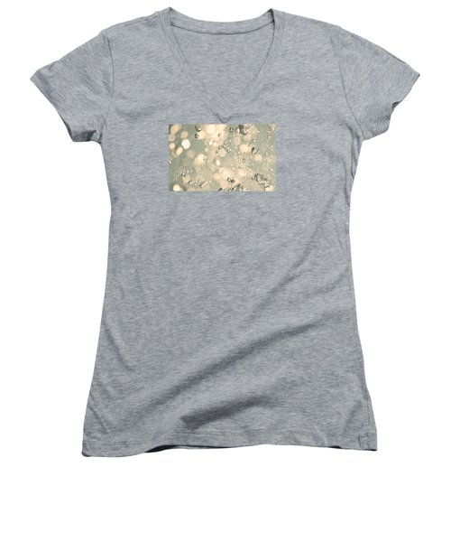 Women's V-Neck T-Shirt (Junior Cut) featuring the photograph Living Water by The Art Of Marilyn Ridoutt-Greene