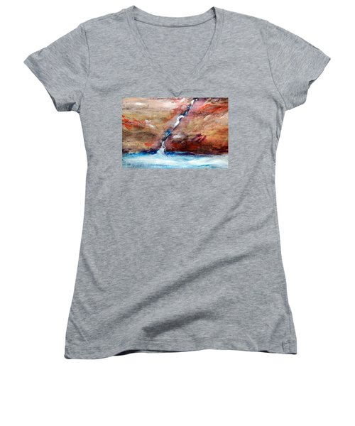 Living Water Women's V-Neck T-Shirt