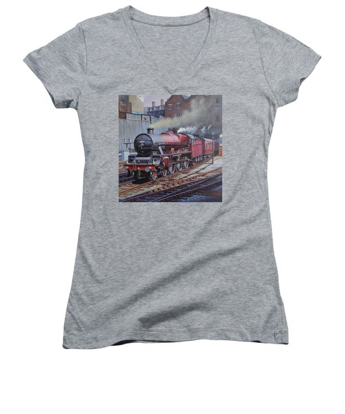 Lms Jubilee At New Street. Women's V-Neck T-Shirt (Junior Cut) by Mike  Jeffries