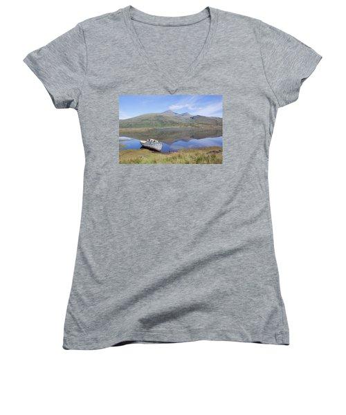 Loch Beg Reflections Women's V-Neck