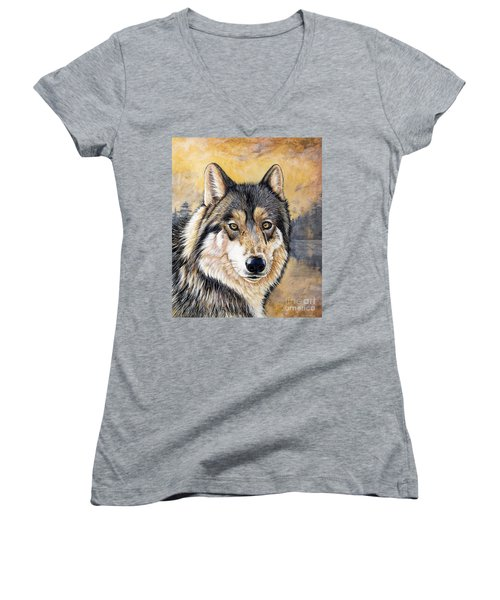 Loki Women's V-Neck T-Shirt