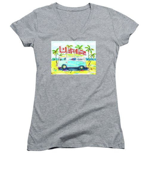 Lollapalooza Women's V-Neck (Athletic Fit)