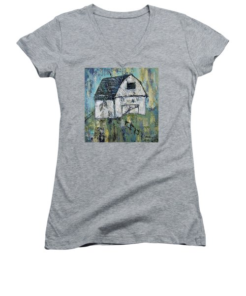Lone Barn Women's V-Neck (Athletic Fit)