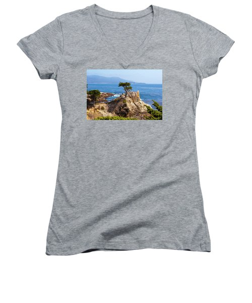Lone Cypress Women's V-Neck T-Shirt