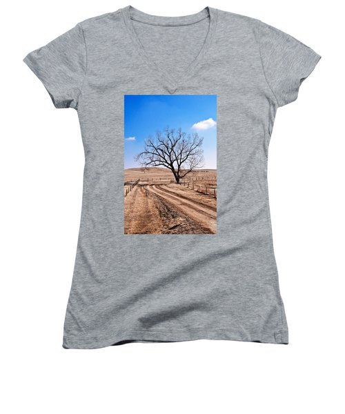 Lone Tree February 2010 Women's V-Neck T-Shirt