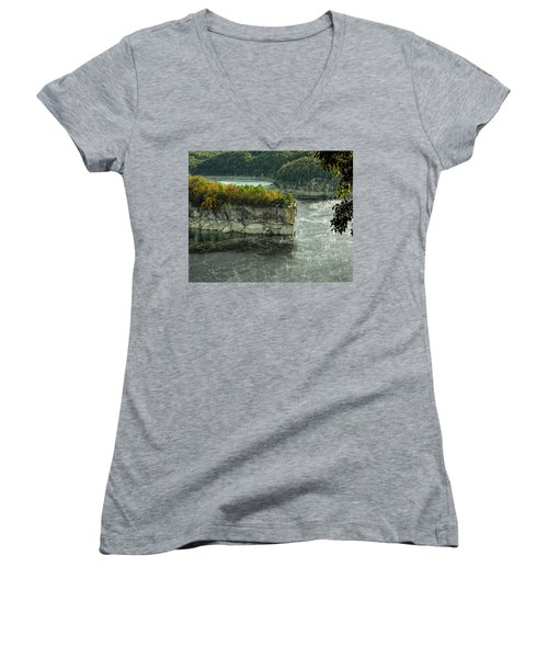 Long Point Clff Women's V-Neck