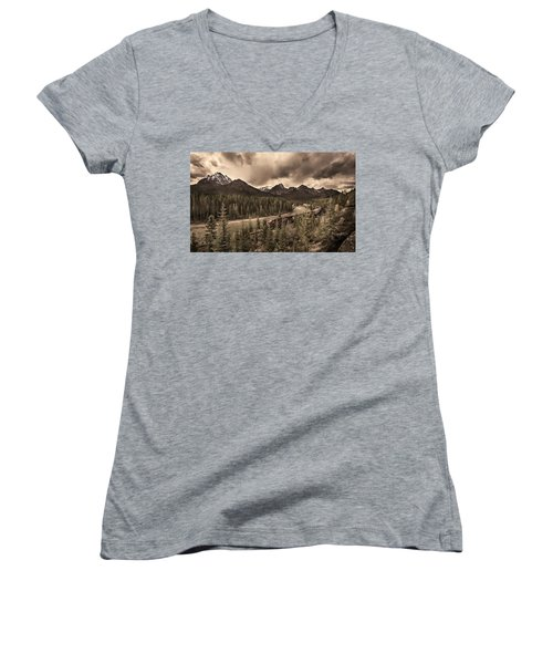 Long Train Running Women's V-Neck