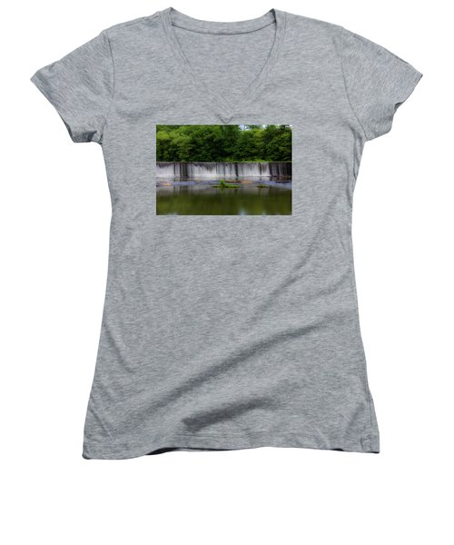 Long Waterfall Women's V-Neck