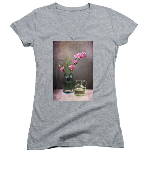 Looking Pretty For You Women's V-Neck