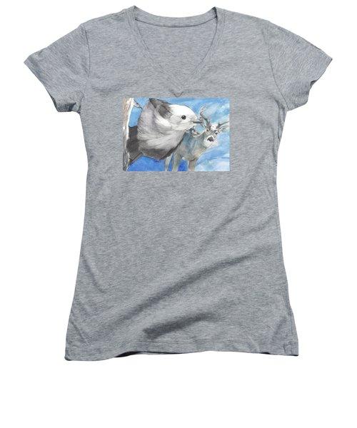Lookout Women's V-Neck T-Shirt