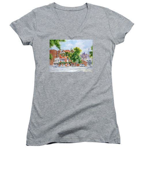 Lord Dudley Hotel Women's V-Neck