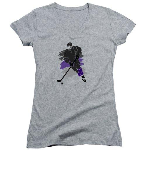 Los Angeles Kings Player Shirt Women's V-Neck T-Shirt
