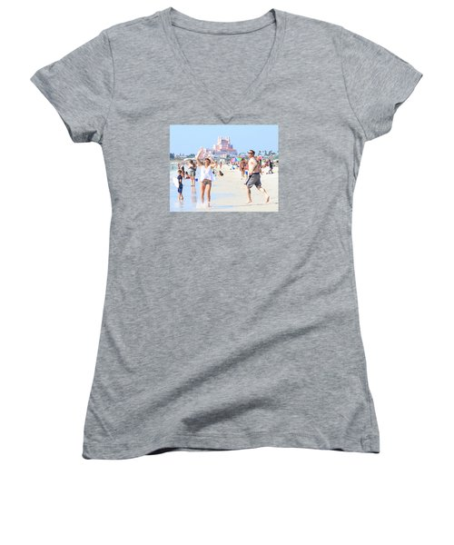 Lost In The Sun Women's V-Neck