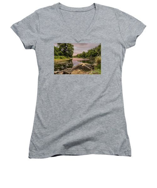 Lost Lake Women's V-Neck T-Shirt